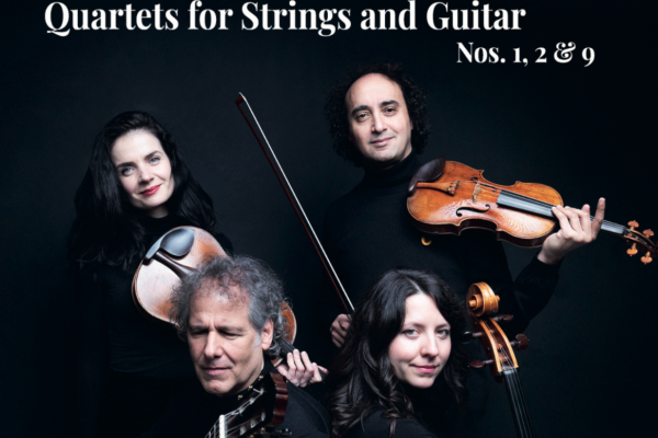 NEW CD RELEASE - Niccolo Paganini Quartets for Strings and Guitar No. 1, 2 & 9